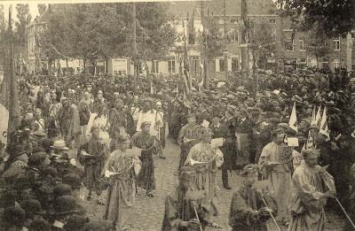 Rodenbachstoet, bondgenootschap tussen Vikingen en Romeinen, 1909
