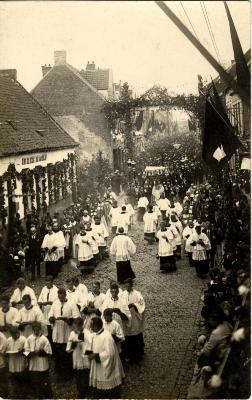 Heilig-Hartprocessie, Heilig Sacrament, 1925