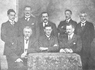 Rodenbachcomité voor heroprichting standbeeld, 1919