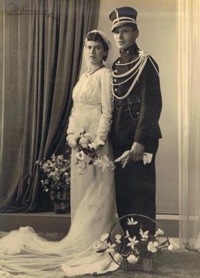 Huwelijk Albert Viaene, 1915