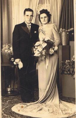 Huwelijk Albert Maertens en Juliana Viaene