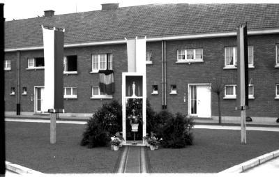 Inhuldiging kapel wijk Negenhoek, Izegem, 1959
