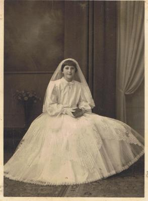 Plechtige Communie Jeanette Maertens, Gits