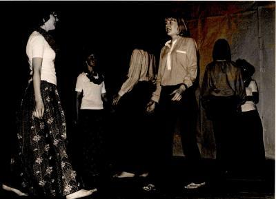 Chiromeisjes groepsfeest, Hooglede, 1978