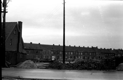 Elektriciteitspaal, Izegem 1957