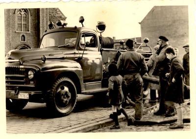 Brandweer Gits, Gits, 1955