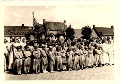 Processie, Gits, 1950