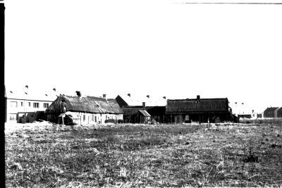 Oude boerderij met strodak, Izegem