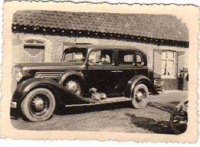 Auto van Adolf Maes, Grijspeerd Gits