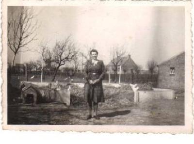 Mevrouw Bertha Vansteelant, Grijspeerd in Gits