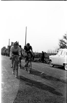 Wielerwedstrijd BWB Ardooie: Heernaert wint, Ardooie 1958