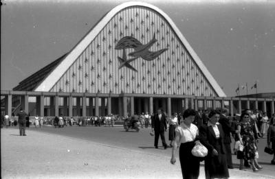 Fotoreportage wereldtentoonstelling, Brussel, 15 augustus 1958