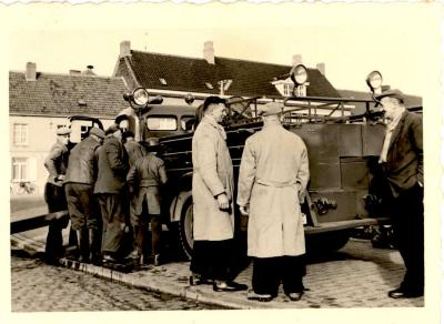 Brandweer, Gits, 1950