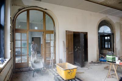 Agentschap van de Nationale Bank, Verbouwingen, foto 2