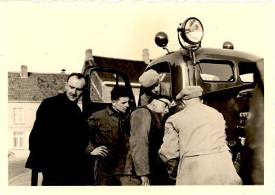 Brandweer Gits, 1950