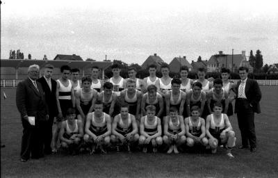 Atletiekvereniging Mandelclub, Izegem, 1958