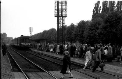 Trein naar Lourdes, Izegem, 1958