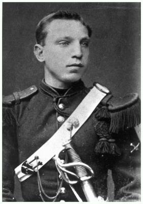 Soldaat Edmond Huyghebaert, 1882