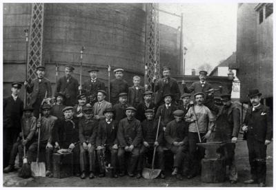 Gasfabriek, 1900